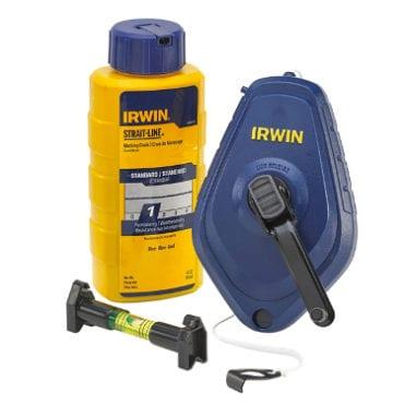 Irwin Strait-Line Speedline PRO Chalk Reel Set