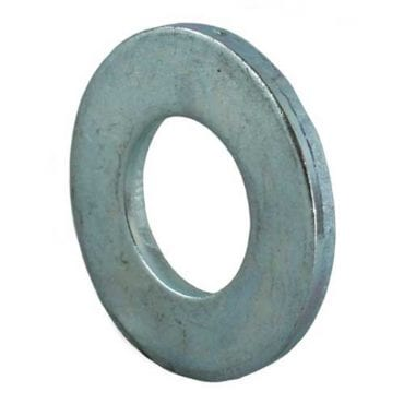 Flat Washers Form C Bright Zinc Plated