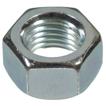 Hex Nuts Bright Zinc Plated