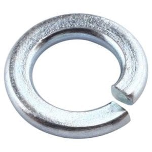 Spring Washers Bright Zinc Plated