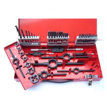 Volkel 3-12mm DIN Tap, Die & Drill Set
