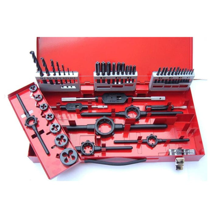 Volkel 3-12mm DIN Tap, Die & Drill Set